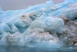 Norway Svalbard Nordaustlandet Brasvelbreen Textures of Icebergs