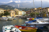 Malcesine  Harbor  Lake Garda  Lombardy  Italy