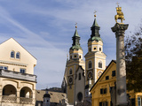 Brixen  View of the Cathedral Central Europe  South Tyrol  Italy