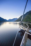 New Zealand's Remote Doubtful Sound an Morning Sunrise in the Area
