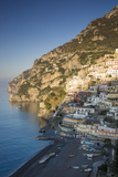 Morning on the Mountains Above Positano  Amalfi Coast  Campania  Italy