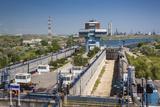 Romania  Navodari  Midia-Navodari Locks on the Black Sea Canal