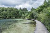 Croatia  Plitvice Lakes National Park  Boardwalk