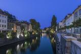 Slovenia  Ljubljana  Ljubljana River at Dawn