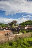 Romania  Transylvania  Biertan  Fortified Saxon Church  Elevated View