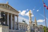 Parliament Building  Vienna  Austria