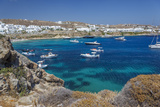 Psarrou Beach in Mykonos Island  Greece