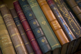 Old French Books at a Bookstore in Galerie Vivienne  Paris  France