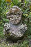 French Polynesia  Austral Islands  Raivavae Moana Hei-Ata  Stone Tiki