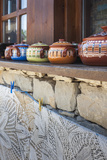 Bulgaria  Central Mountains  Arbanasi  Pottery and Embroidery