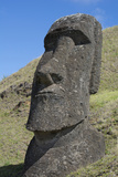 Chile  Easter Island Rapa Nui NP  Historic Site of Rano Raraku Moi