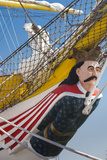 Romania  Black Sea Coast  Constanta  Figurehead of a Ship