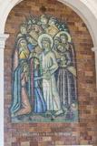 Portugal  Fatima  Crucifixion Mural