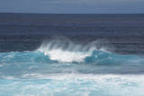Chile  Easter Island Pacific Ocean Views of Crashing Waves