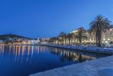 Croatia  Split  Waterfront at Dawn