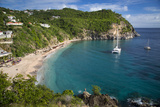 Boats at Anchor  Shell Beach  Gustavia  St Barts  French West Indies