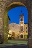 Chiesa San Francesco  San Quirico d'Orcia  Tuscany  Italy
