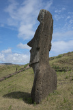 Chile  Easter Island Rapa Nui NP  Historic Site of Rano Raraku