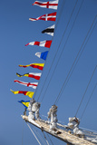 Romania  Constanta  Black Sea Tall Ships Regatta  Signal Flags