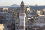 Mosque Tower and Skyline  Sana'a  Yemen