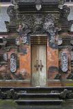 Indonesia  Bali Hindu Temple Door at Pura Tirta Empul Temple