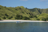 Indonesia  Komodo Island Komodo NP Pink Beach Cove  Savu Sea