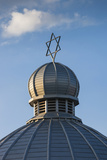 Romania  Moldavia  Iasi  the Great Synagogue  Dome with Star of David