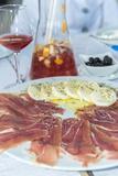 Portugal  Porto  Ham and Mozzarella Cheese Appetizer  Sangria