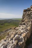 Romania  Sarichioi  Ruins of Cetatea Heracleea de La Enisala Fortress