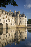 Early Morning at Chateau Chenonceau  Indre-Et-Loire  Centre  France