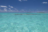 Cook Islands Palmerston Island Shallow Lagoon with Coral