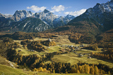 Italy  Northern Dolomites and Valley