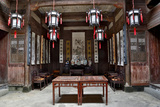 Hongcun Village  Interior of Home  UNESCO World Heritage Site