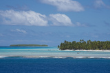 Cook Islands Palmerston Island  a Classic Atoll Seascape