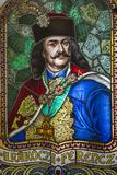 Romania  Transylvania  Culture Palace Building  Stained Glass Windows
