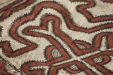 Melanesia  Papua New Guinea  Tufi Traditional Handmade Tapa Cloth