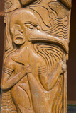 Solomon Islands  Guadalcanal Island Cultural Center  Wood Carving