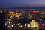Night View of Las Vegas from Stratosphere Tower  Nevada