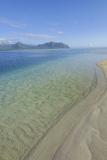 Sandbar  Kaneohe Bay  Oahu  Hawaii