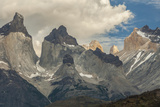 Chile  Patagonia  Torres del Paine NP the Horns Mountains