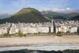 Copacabana Beach  Copacabana  Rio de Janeiro  Brazil