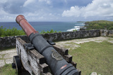 Us Territory of Guam  Umatac Fort Soledad Cannon and Philippine Sea