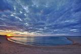 Sunset over Meadow Beach  Cape Cod National Seashore  Massachusetts