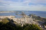 View over Sugarloaf Mountain in Guanabara Bay  Rio de Janeiro