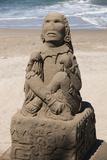 Mexico  Puerta Vallarta Sand Sculptures
