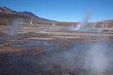 Chile  Andes  El Tatio Is a Largest Geothermal Location