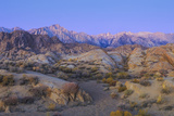California  Alabama Hills Sunrise on Lone Pine Peak and Mt Whitney