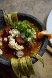 Molcajete Bowl  Stew  Tlaquepaque  Guadalajara  Jalisco  Mexico