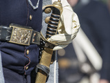 Civil War Soldier Wearing Sword