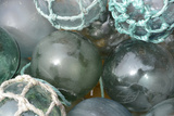 USA  Alaska  Ketchikan  Antique Japanese Glass Fishing Floats